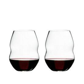 リーデル スワル レッドワインタンブラー 2個セット 450/30 2脚 ワイングラス ペア RIEDEL SWIRL【正規品】(快適家電デジタルライフ)