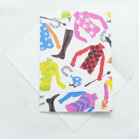 多目的カード ジョッキー マサキリョウ Masaki RyoCaspariグリーティングカード