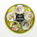 マグネット 5Magnets Persane[Les Cakes de Bertrand]レ ケーク ドゥ ベルトラン磁石・パリ・猫・cat・ネコ