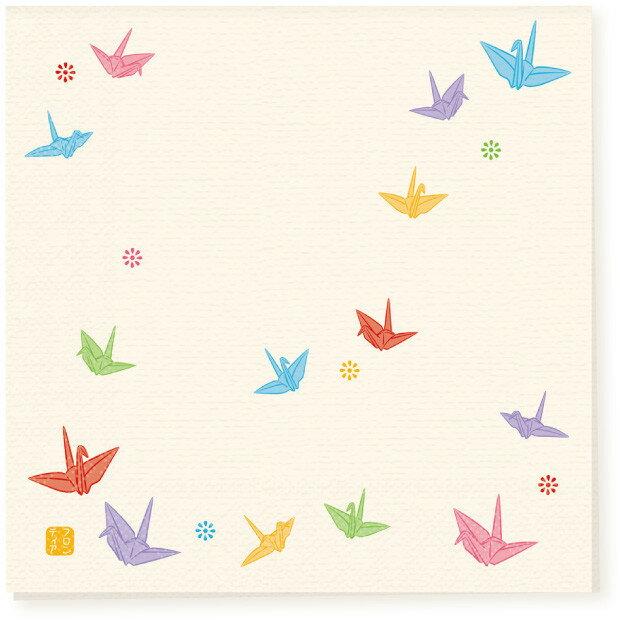 日本食品衛生法規格品ペーパーナプキン[メール便OK] 折り鶴10枚入り[FRONTIA]フロンティア 和柄お祝い紙ナプキン