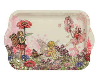 Abolished turn melamine tray small size flower fairy [Cicely Mary Barker] Sicily Mary Barker fairy