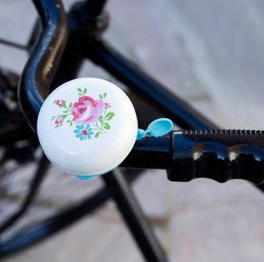 自転車ベル  La Petite Rose [dotcomgiftshop] レトロ  おしゃれ雑貨 小花柄 ドットコムギフトショップ