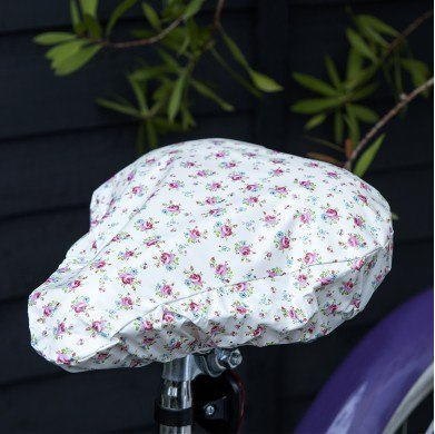 サドルカバー  La Petite Rose [dotcomgiftshop] レトロ  おしゃれ雑貨 小花柄 ドットコムギフトショップ 自転車 シート