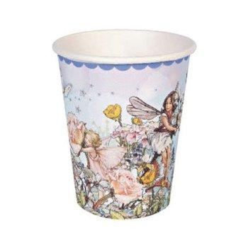 在庫限り ペーパーカップ 紙コップ12個セット フラワーフェアリー ブルー[Flower Fairies][MeriMeri]メリメリ・パーティー