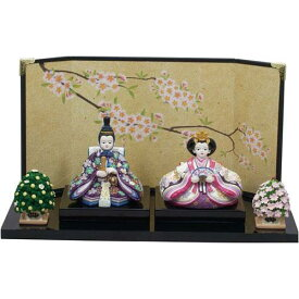 雛人形 ひめの 紫都香コンパクト親王飾り雛祭り・ひなまつり・雛飾り・お雛様