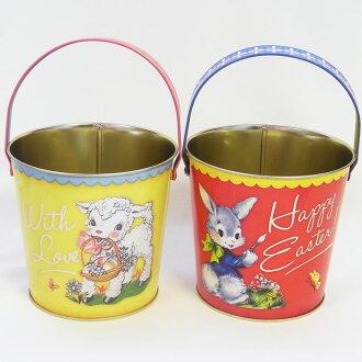 Easter Egg캔물통 빈티지 애니멀[ELITE]엘리트 에그 헌트용알 넣어 에그 헌트 용구・부활절 랩핑 자재