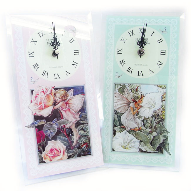 フラワーフェアリーズクロック[FlowerFairies]フラワーフェアリー妖精・時計・ウォッチ・花柄