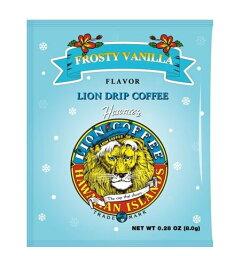 限定商品raiondorippukohifurosutibanira[LION DRIP COFFEE]夏威夷、HAWAIIAN ISLANDS、滋味咖啡、冬季限定