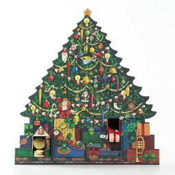 木製廣告便特日曆聖誕樹Byers Choice進口廣告便特日曆