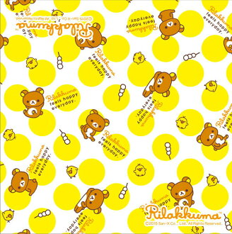 Paper napkin, Rilakkuma with paper napkin リラックマ リラックマ five pieces [Temma paper container]