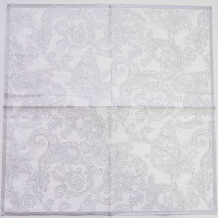 ペーパーナプキン[メール便OK] シルバークラシック 2枚入り[ZARA][ドイツ製]紙ナプキン・デコパージュ・ザラホーム
