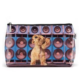 ウォッシュバッグ スピーカードッグ[Catseye][犬グッズ 犬雑貨]・犬・ドッグ・イヌ・ダックス