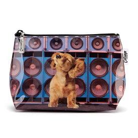 スモールウォッシュバッグ スピーカードッグ [犬グッズ 犬雑貨][Catseye]犬・ドッグ・イヌ・ダックス