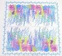 ペーパーナプキン  青珊瑚 サンゴ 2枚入り[ZARA][ドイツ製]紙ナプキン・デコパージュ・サンゴ・海