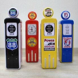 [輸入お菓子]チャーチル ガスポンプ缶 トフィーChurchill's Petrol Pumpディスプレイ インテリア 小物入れ