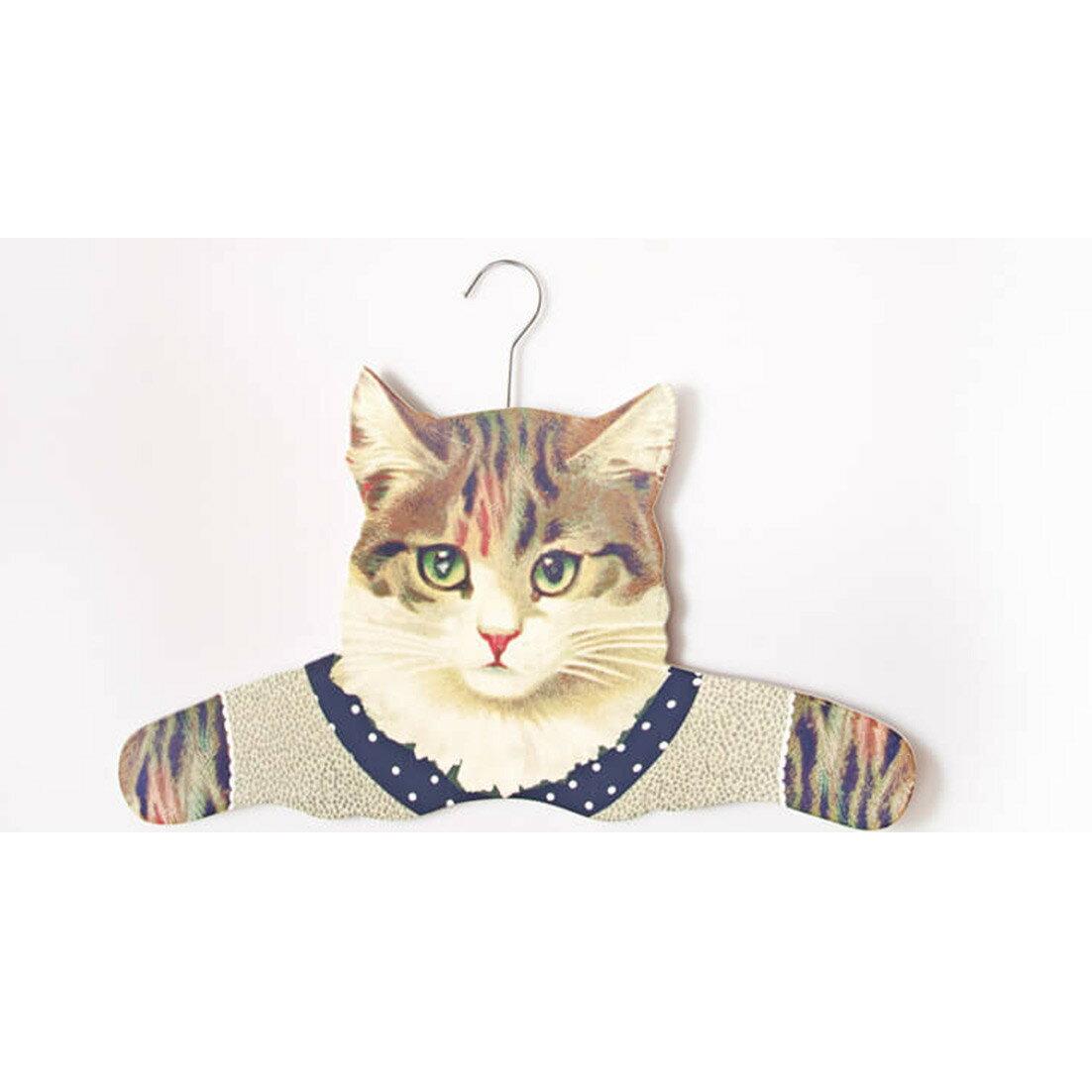 ドレスアップコートハンガー ねこSass&Belle キャットハンガー・猫雑貨