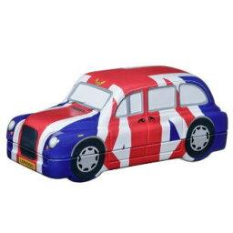 含進口食品英國國旗·汽車(紅茶茶袋40袋入)The London Taxi Company Infinity Brands(UK)英國式早餐球座罐的紅茶球座背景