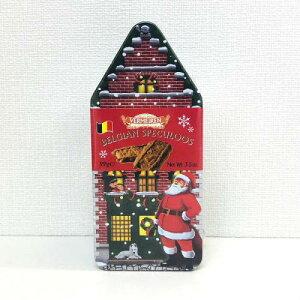 限定缶 ベルメーレン カラメルビスケット クリスマス缶限定缶 輸入お菓子[VERMEIREN]ヴェルメーレン クッキー