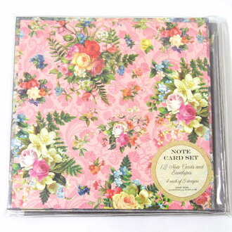 Kaderia rakuten global market 12 pieces of set punch studio 12 pieces of set punch studio punch studio greeting card message cards floral in three kinds of folding card set evening m4hsunfo