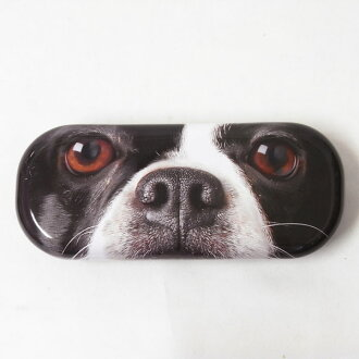 Glass case French bulldog up 741-842 [Catseye] [dog goods dog miscellaneous goods] glasses case sunglasses case dog, dog dog, dog, Dog