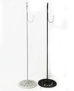 鉄製 置き型 リーススタンド75cm固定式 ブラックFOYER クリスマス リースハンガー