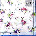 ペーパーナプキン[メール便OK] コテージローゼズ3枚入りppd[ドイツ製]CottageRosesデコパージュ・ラッピング花柄・ロ…