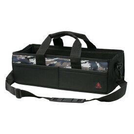 RINGSTAR ツールバッグ ガサット ロングタイプ ネイビーブルー 【 リングスター 工具袋 工具箱 小物収納 迷彩 カモフラージュ 充電式 クリーナー 】