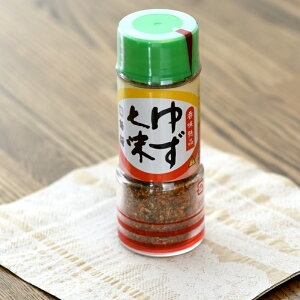 ゆず七味50g七味薬味トッピングそばうどん麺