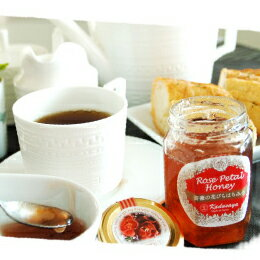 薔薇(バラ)の花びらはちみつ〜パンにぬったり紅茶に混ぜたり・・・