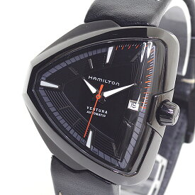 HAMILTON ハミルトン メンズ腕時計 ベンチュラ エルヴィス80 H24585331 ブラック(黒)文字盤【中古】