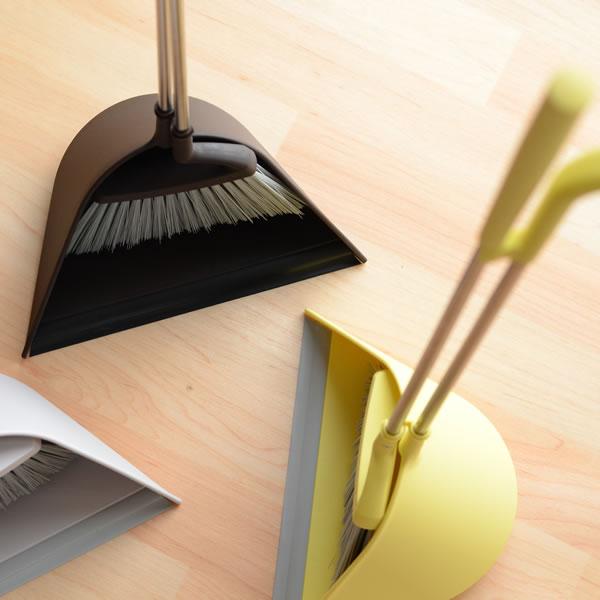 ほうき ちりとり セット 【送料無料】【ポイント10倍】 SWEEP スウィープ Tidy ほうき ちりとり 2点セット チリトリ ホーキ おしゃれほうき 玄関ほうき シンプルほうき 屋外ほうき 室内ほうき スリムほうき 日本製 掃除用品 掃除 掃除グッズ 玄関 室内 北欧
