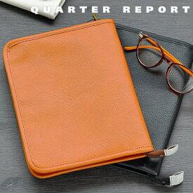 クォーターリポート QUARTER REPORT マルチケース スキャット 母子手帳ケース カードケース 旅行 通帳ケース パスポートケース レシートケース ギフト 日本製 パスポート 通帳 ファスナー 母子手帳 合皮 おしゃれ