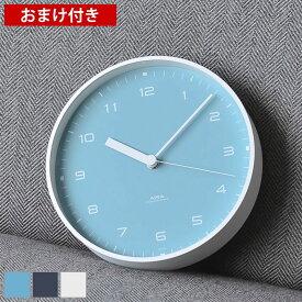 タカタレムノス lemnos 掛け時計 置き時計 エアラ AIRA LC18-03 置時計 おしゃれ 大きい アナログ 時計 壁掛け ホワイト ネイビー ブルー シンプル 北欧 レムノス 置き掛け兼用時計 連続秒針 静か 静音 スイープムーブメント プレゼント