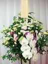 【スタンド 葬儀】【葬儀 花】【お供え スタンド花】【お通夜 花】【あす楽 送料無料】【供花 スタンド】◆胡蝶蘭入…