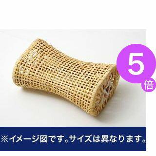 ■5倍ポイント■枕 まくら 籐枕 籐まくら ピロー 通気性抜群 蒸れない 『籐枕』 約30×17cm【代引不可】 [13]