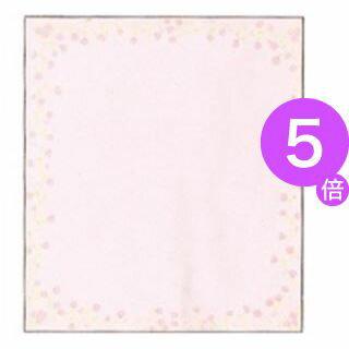 ■5倍ポイント■(業務用200セット) ミドリ 色紙 33122006 小花柄ピンク[21]