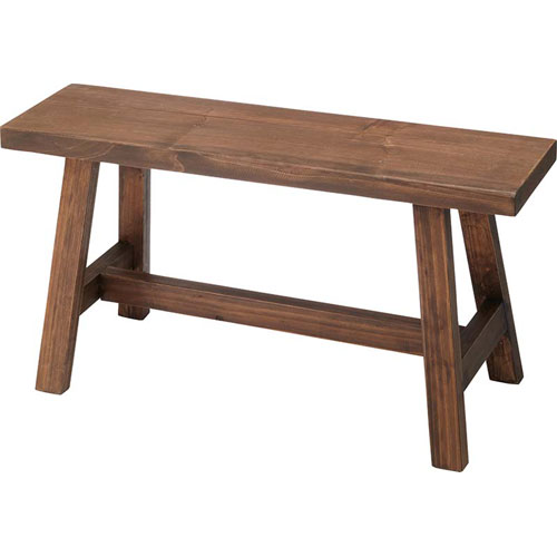 木製ワイドスツール ソーレ