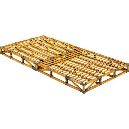 籐すのこベッド台 籐枕付 シングル y906