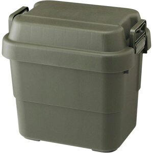 送料無料 日本製 トランクカーゴ 20L カーキ 耐荷重100kg アウトドア キャンプ道具 収納 防災用品 防災グッズ 持ち手付き 椅子 スツール ベンチ 小物入れ 小物収納 ファイル収納 コンパクト収
