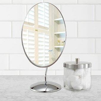 鏡の専門店 業務用 プロ仕様 鏡 ミラー 卓上鏡 卓上ミラー スタンドミラー ミラースタンド スタンド メーキャップミラー 化粧鏡 コスメミラー:3a52t(片面鏡)
