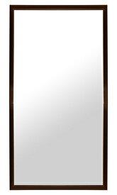 鏡の専門店 痩せてみえる鏡 スタイル調整鏡 鏡 ミラー 立て掛け鏡 立て掛け 姿見 姿見鏡:SA-900h1800-28k-br(スタンドミラー 転倒防止 スタンド 店舗 店舗用 アパレル ショップ 全身 全身鏡 大型ミラー シェイプアップミラー)