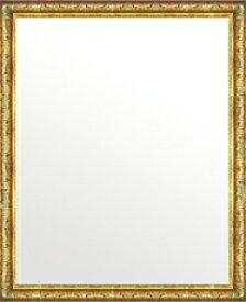 ゴールド 金 金箔 仕立ての 鏡 ミラー 壁掛け鏡 壁掛けミラー ウオールミラー:ボーン ナポリ ゴールド 472mmx572mm(フレームミラー 壁掛け 壁付け 姿見 姿見鏡 壁 おしゃれ エレガント 化粧鏡 アンティーク 玄関 玄関鏡 洗面所 トイレ 寝室 )