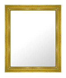 ゴールド 金 金箔 仕立ての 鏡 ミラー 壁掛け鏡 壁掛けミラー ウオールミラー:C-1004G-487mmx588mm(フレームミラー 壁掛け 壁付け 姿見 姿見鏡 壁 おしゃれ エレガント 化粧鏡 アンティーク 玄関 玄関鏡 洗面所 トイレ 寝室 )