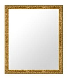 ゴールド 金 金箔 仕立ての 鏡 ミラー 壁掛け鏡 壁掛けミラー ウオールミラー:C-20028-w459mmx560mm(フレームミラー 壁掛け 壁付け 姿見 姿見鏡 壁 おしゃれ エレガント 化粧鏡 アンティーク 玄関 玄関鏡 洗面所 トイレ 寝室 )