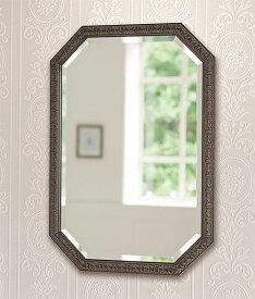 ゴールド 金色 の 鏡 ミラー 壁掛け鏡 壁掛けミラー ウオールミラー:FaS-3r980BK-04(フレームミラー 壁掛け 壁付け 姿見 姿見鏡 壁 おしゃれ エレガント 化粧鏡 アンティーク 玄関 玄関鏡 洗面所 トイレ 寝室 )