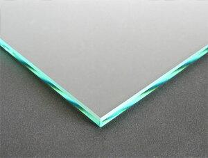 ガラスマット 硝子敷き(長方形 正方形)国産の硝子 板硝子(板厚5ミリ) 糸面取り加工(面取り幅1〜2ミリ):800x800mm