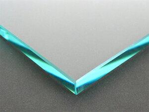 テーブルトップガラス テーブル天板 ガラス天板 天板ガラス(長方形 正方形)国産の硝子 板硝子(板厚10ミリ) 糸面取り加工(面取り幅1〜2ミリ):850x1350mm