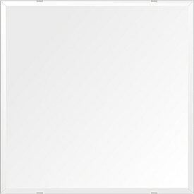 飛散防止加工 鏡 ミラー 高透過 超透明鏡 安心 安全 クリスタルミラー シリーズ:b-scm-h-4m18-600mmx600mm-HS(四角形)(スーパークリアーミラー デラックスカットタイプ)アイビーオリジナル洗面 浴室 風呂 トイレ 水廻り 壁掛け 姿見 鏡 ミラー