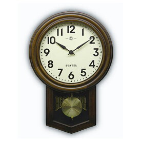一点一点 手作り 振り子時計 日本製 振り子 時計 電波時計 レトロ 壁掛け 掛け時計 木製 おしゃれ ギフト 北欧 (電波 電波式)(アンティーク クラシック)(仕掛け時計)