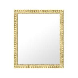 ゴールド 金 金箔 仕立ての 鏡 ミラー 壁掛け鏡 壁掛けミラー ウオールミラー:32-6414-471mmxh572mm(フレームミラー 壁掛け 壁付け 姿見 姿見鏡 壁 おしゃれ エレガント 化粧鏡 アンティーク 玄関 玄関鏡 洗面所 トイレ 寝室 )